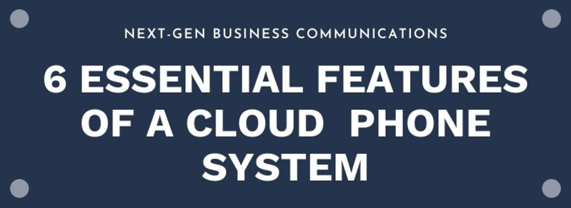 Essential business phone cloud features