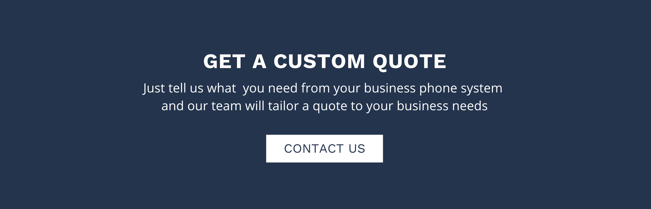 Contact benemen for a business phone system quote